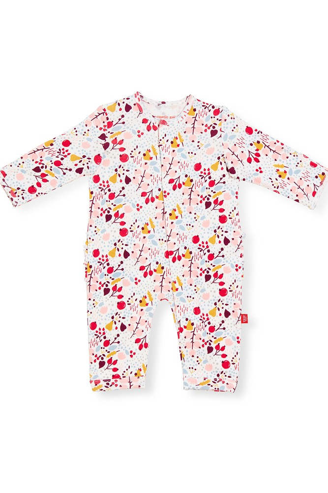 Magnetic Me™ 100% Organic Cotton Coveralls (Pom Pom)