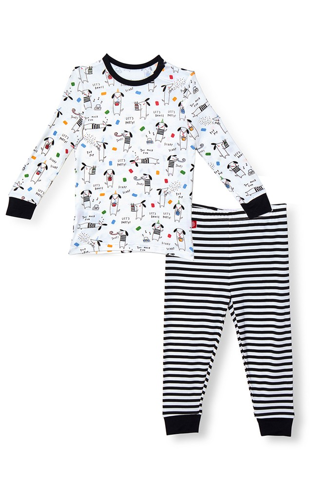 Magnetic Me™ Modal Toddler Magnetic Pajama Set (Raise the Woof)