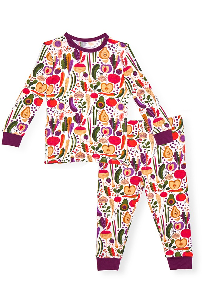 Magnetic Me™ Modal Toddler Magnetic Pajama Set (Homegrown)