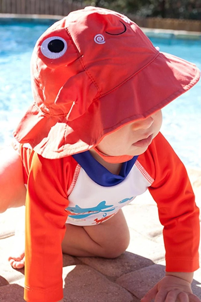 ZOOCCHINI - Baby UPF50+ Rash Guard (Deep Sea-Mates)
