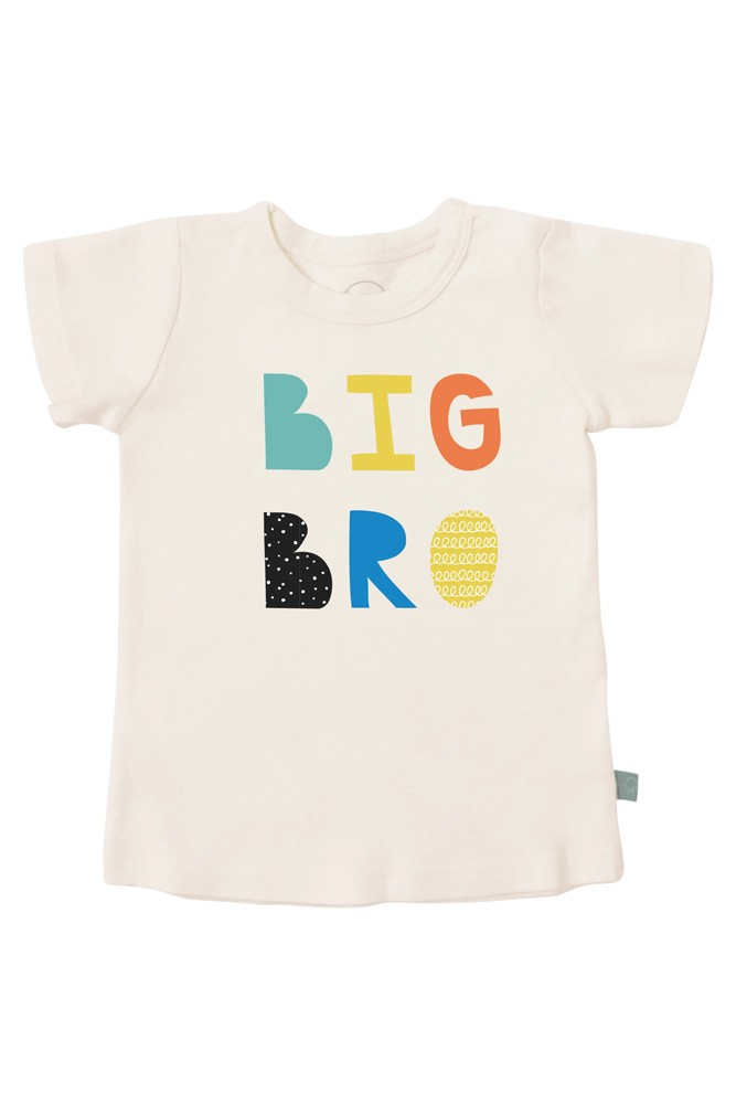 Finn + Emma Organic Cotton Graphic Tee (Big Bro)