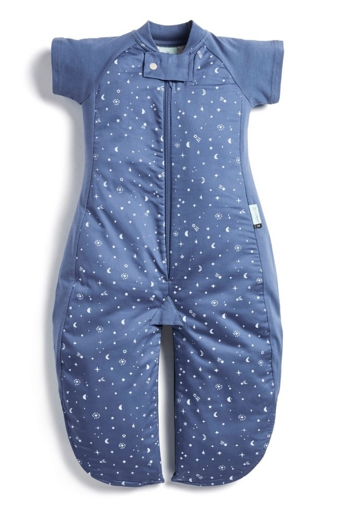 ergoPouch Organic Cotton Sleep Suit Bag (1.0 Tog) (Night Sky)