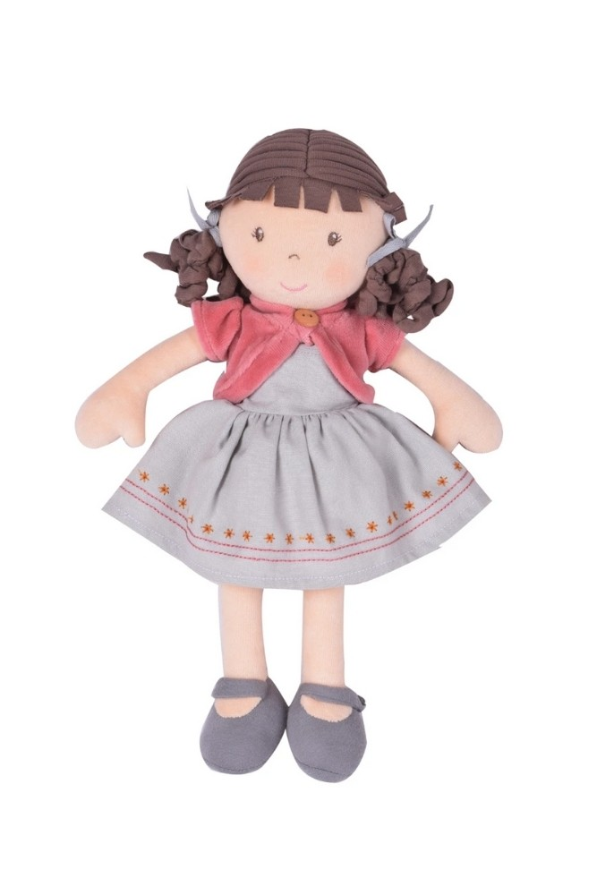 Rose - Organic Doll With Brown Hair (Rose)